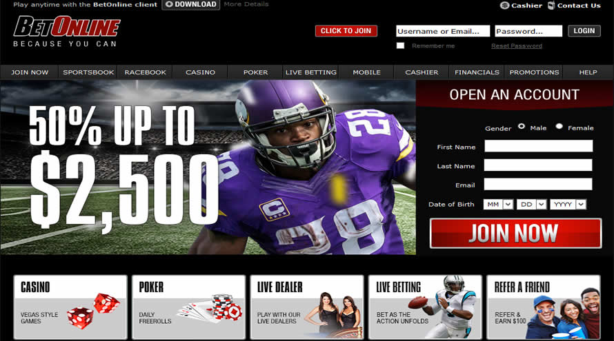 Betonline Sportsbook And Casino