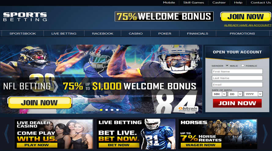 Sportsbetting.ag Sportsbook And Casino